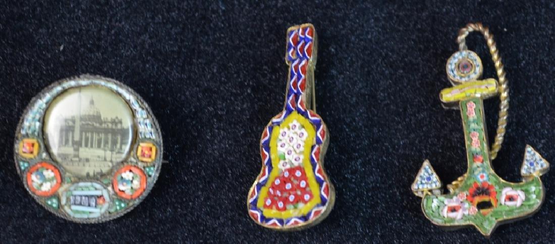 3 Mini Metal Pins