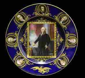 Hutschenreuther Porcelain US Presidential Dish