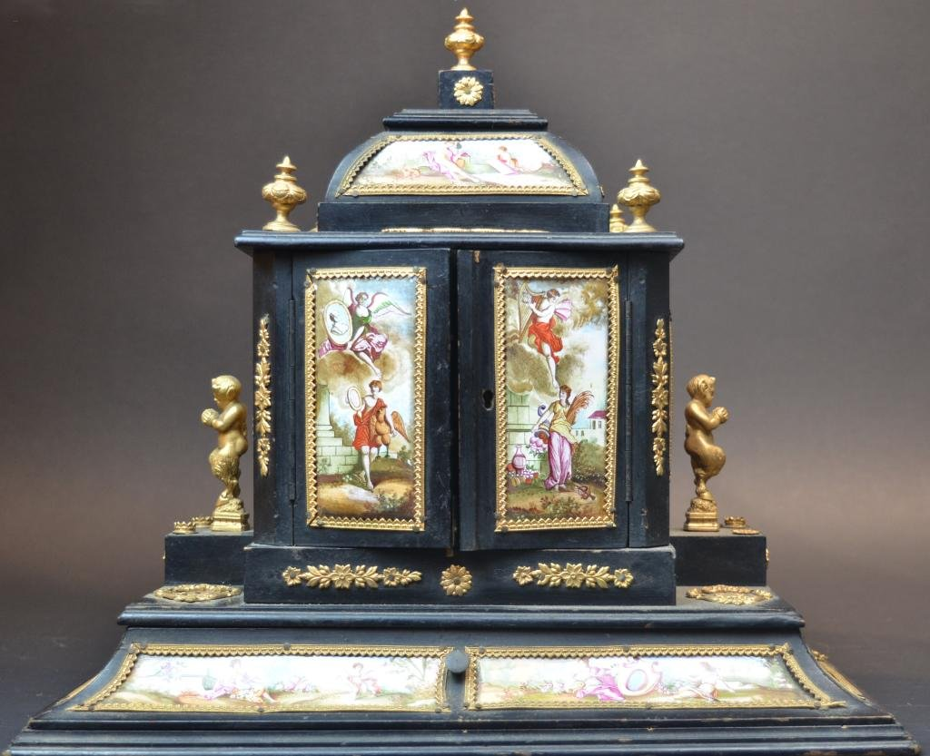 Viennese Enamel Jewelry Chest