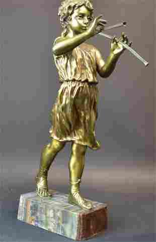"Affortunato Gory (French, 1895-1925) ""Musician"""