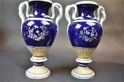 Pair Meissen Vases