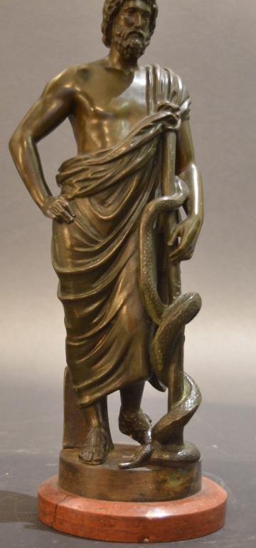 Gustav Hermann Gladenbeck Bronze Sculpture