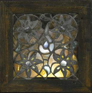 Leaded & Stained Glass Window, Attr. to LaFarge