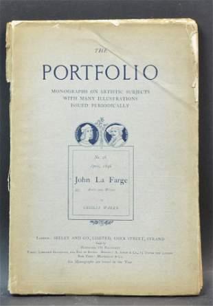 "John LaFarge ""The Portfolio"" Book, 1896"
