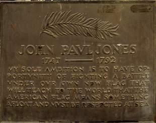 A Large Bronze Plaque by Tiffany Studios, JP Jones
