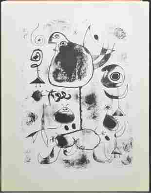 The Prints of Joan Miro Portfolio