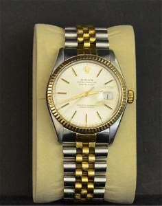 A Rolex Oyster Perpetual Datejust Wristwatch