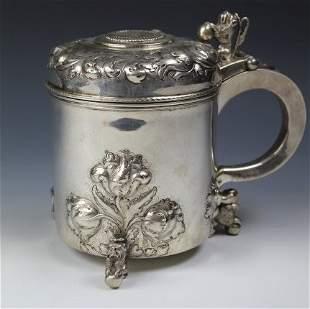 A Fine Silver Tankard, Scandinavian, Unknown Maker