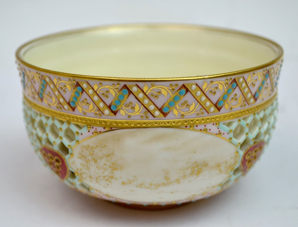 Royal Worcester Double Wall Bowl