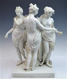 Meissen Figure Group The Three Graces