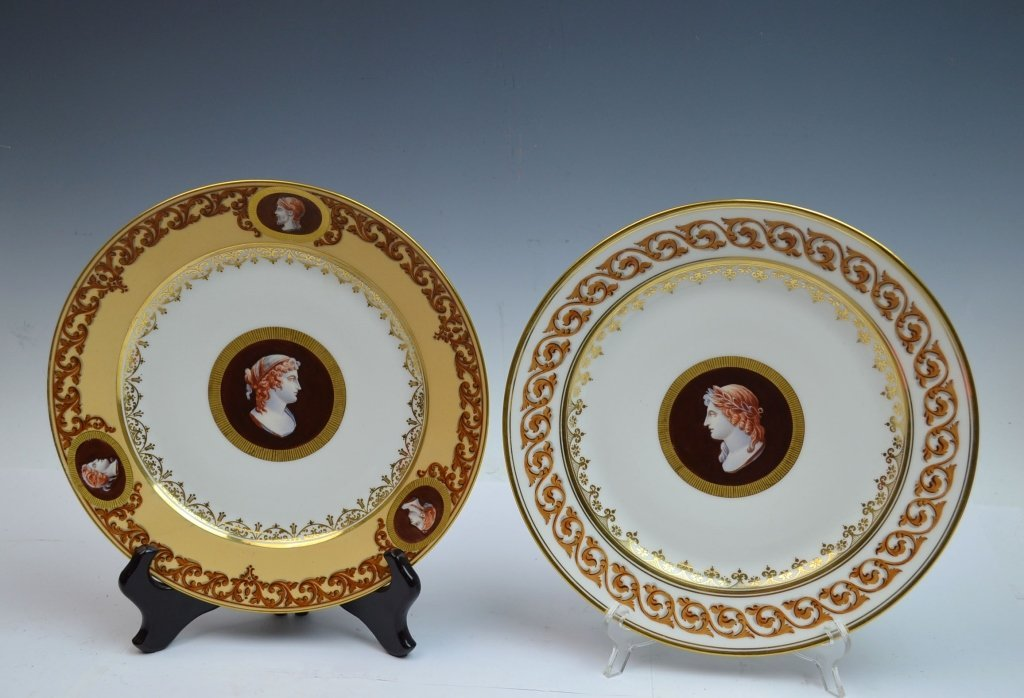 Two Sevre Plates