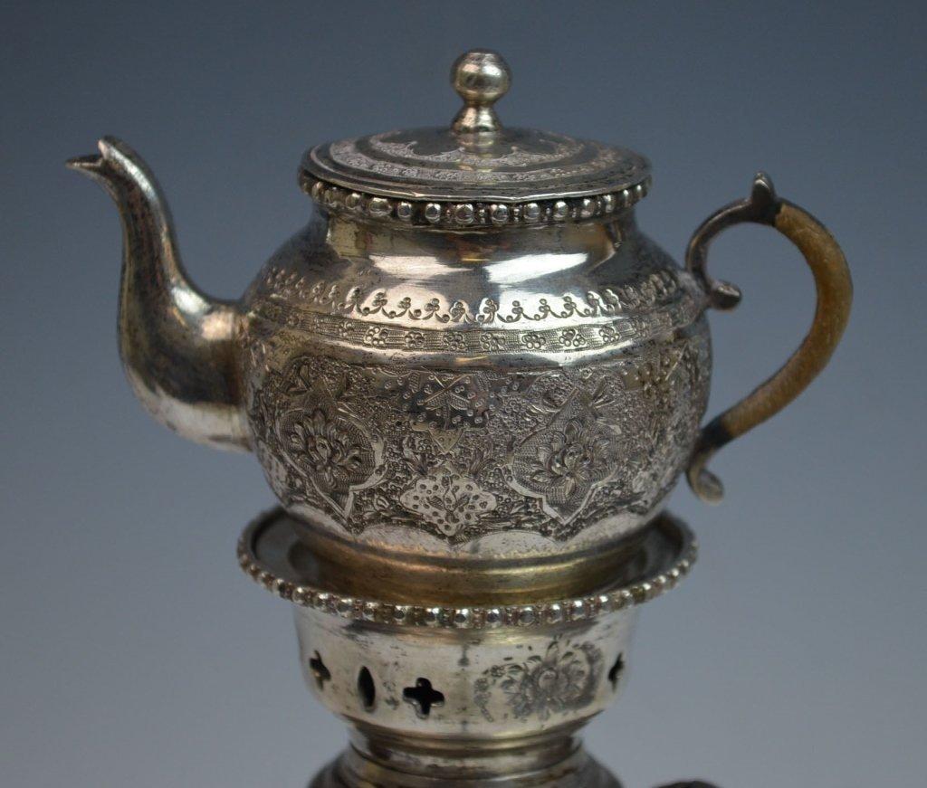 Iranian Silver SAMOVAR Teapot - 2