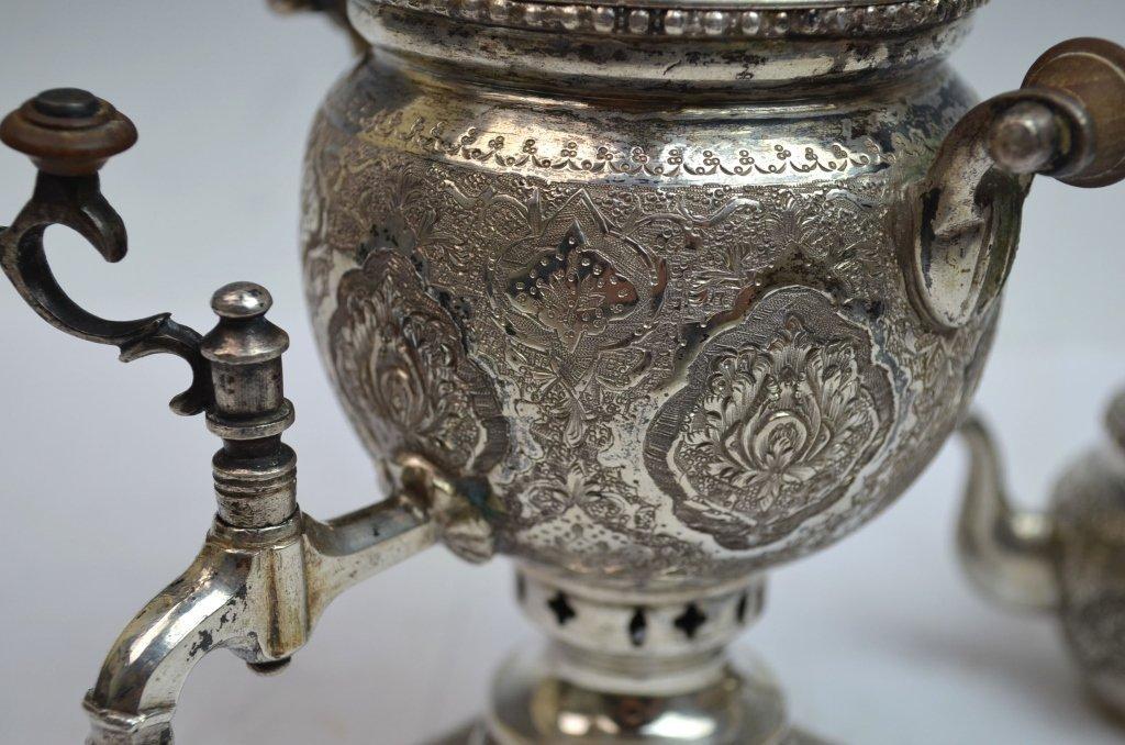 Iranian Silver SAMOVAR Teapot - 5