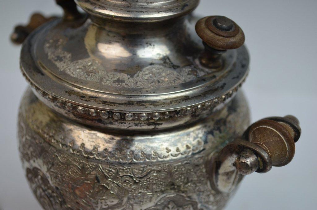 Iranian Silver SAMOVAR Teapot - 6