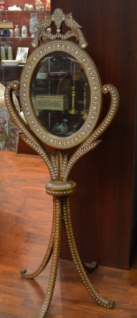 Indian Inlaid Mirror