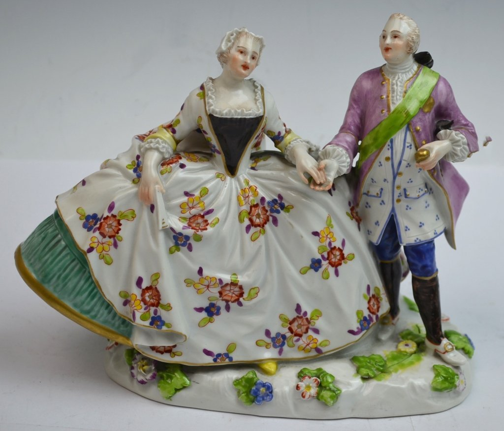 19th Century HOCHST Porcelain Figure