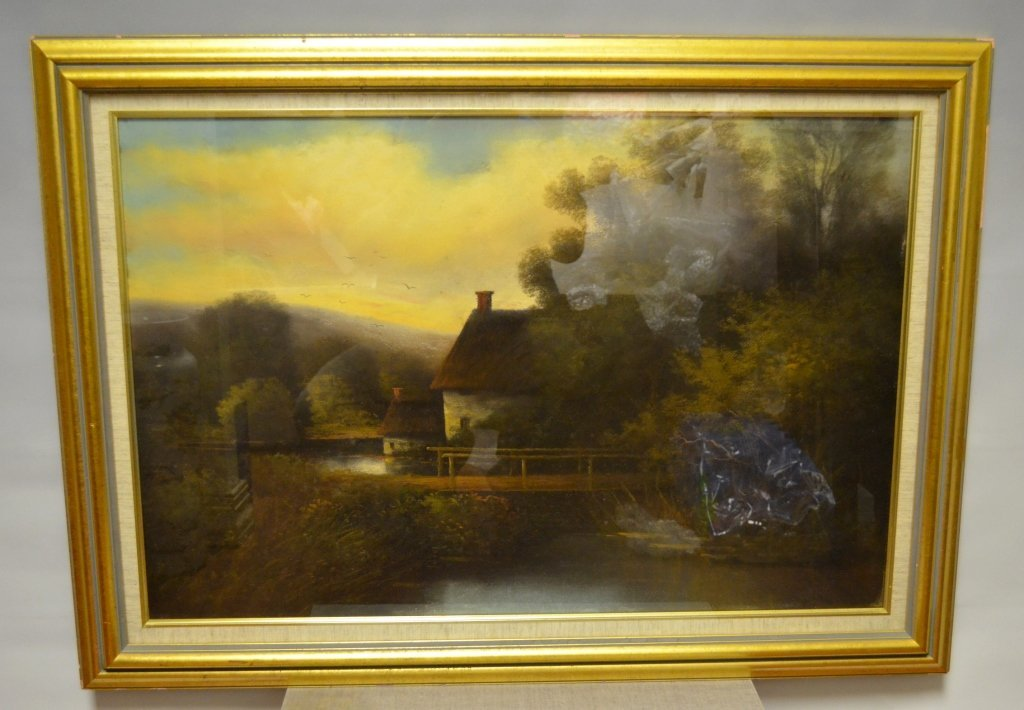 Oil Landscape Painting on Canvas