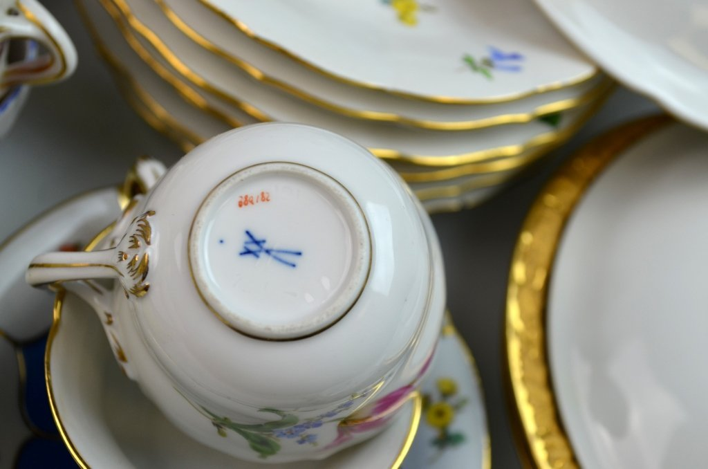 Meissen Porcelain Items - 10