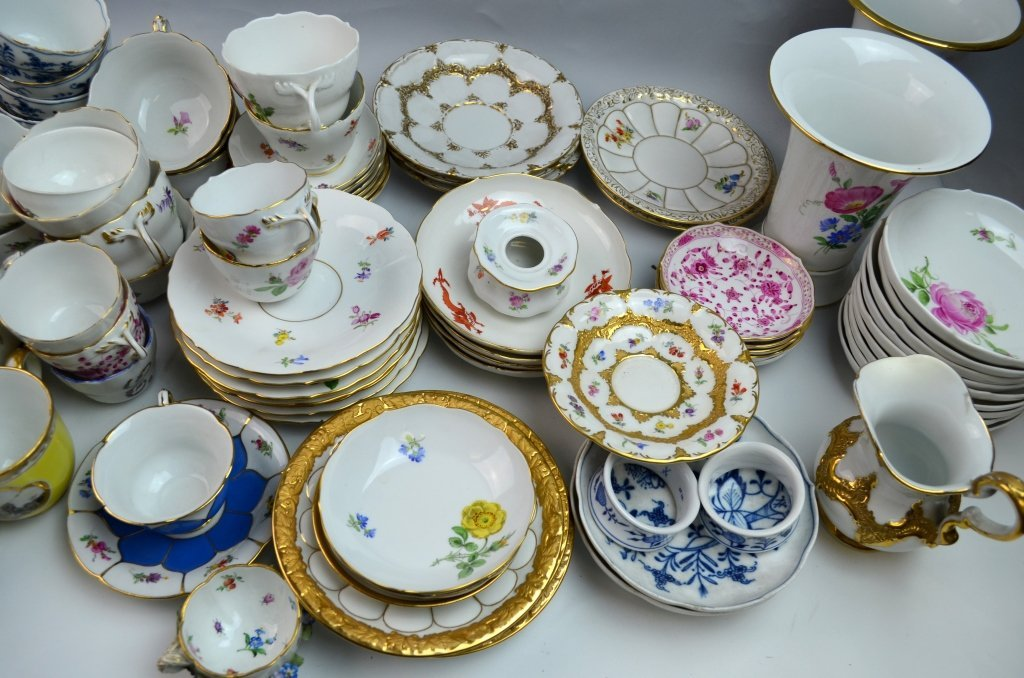 Meissen Porcelain Items - 3