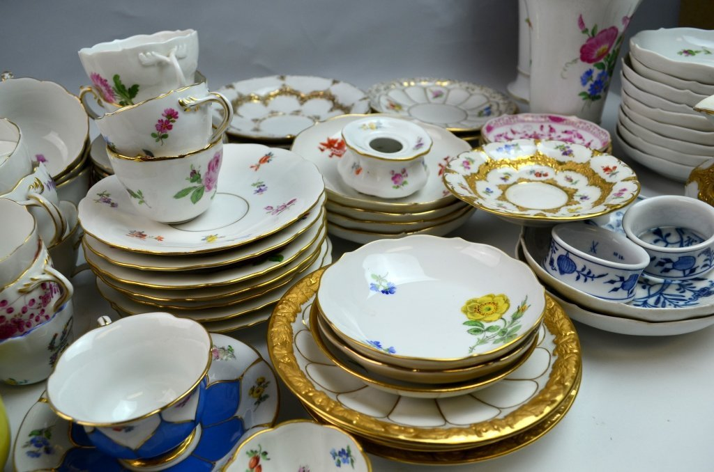 Meissen Porcelain Items - 8