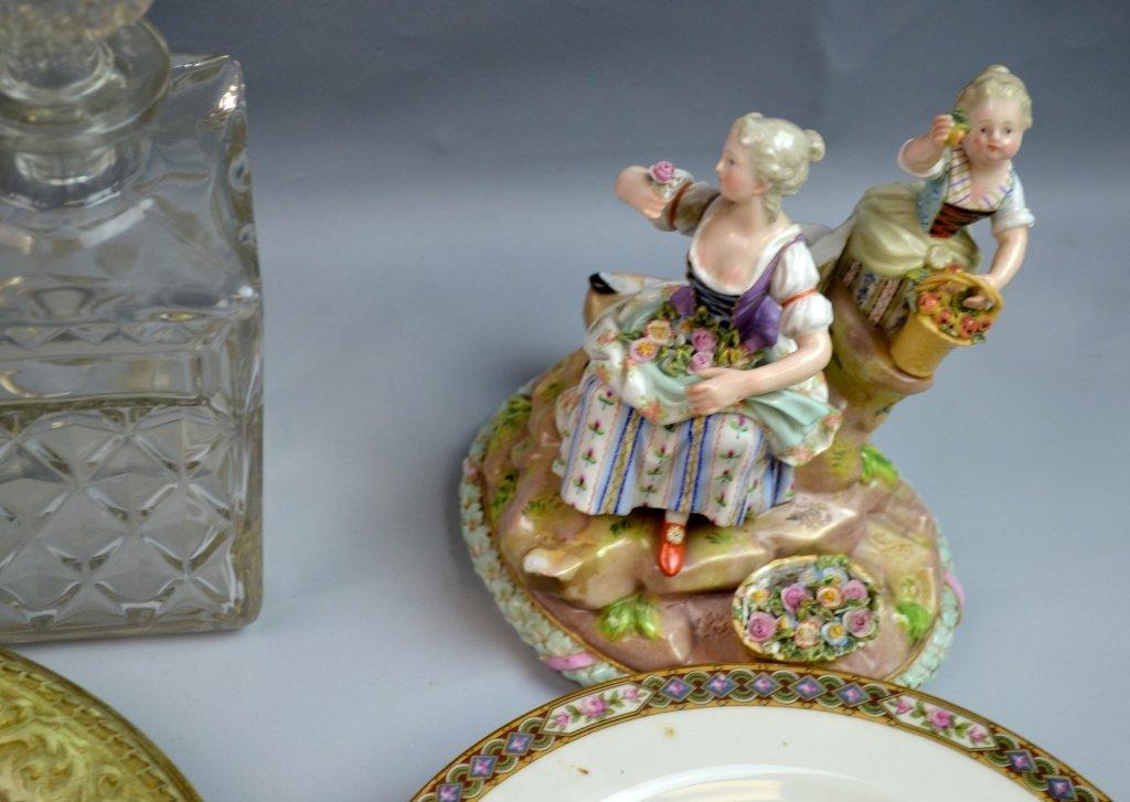 A Group of Porcelain & Glass Dinnerware Set - 2