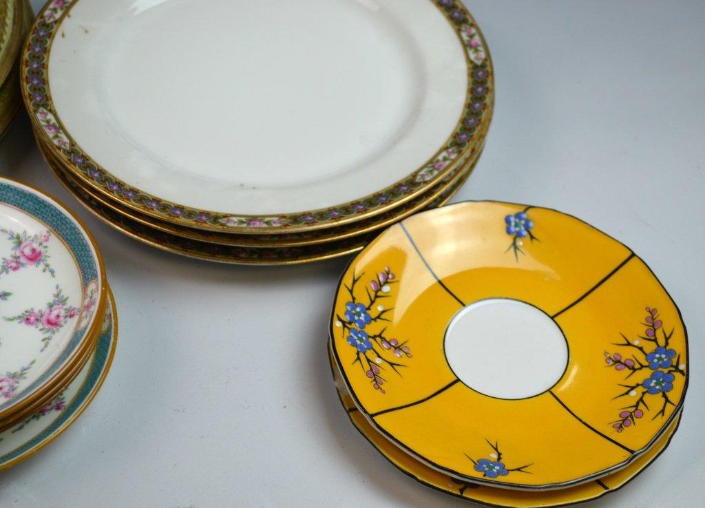 A Group of Porcelain & Glass Dinnerware Set - 3