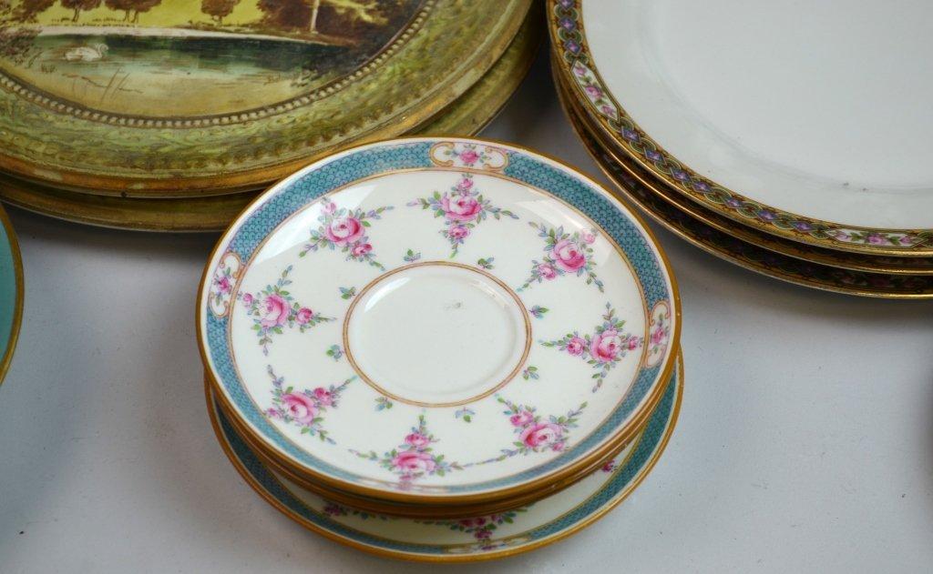 A Group of Porcelain & Glass Dinnerware Set - 4