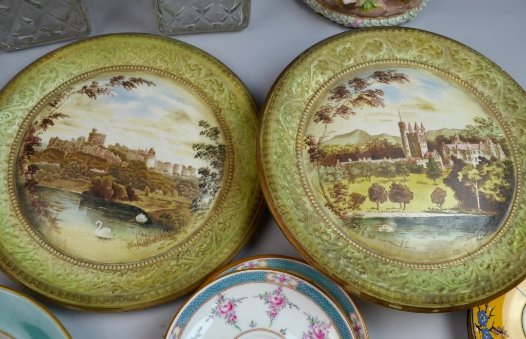 A Group of Porcelain & Glass Dinnerware Set - 8