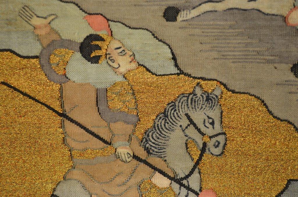 Pair of Chinese Kesi Textile - 4