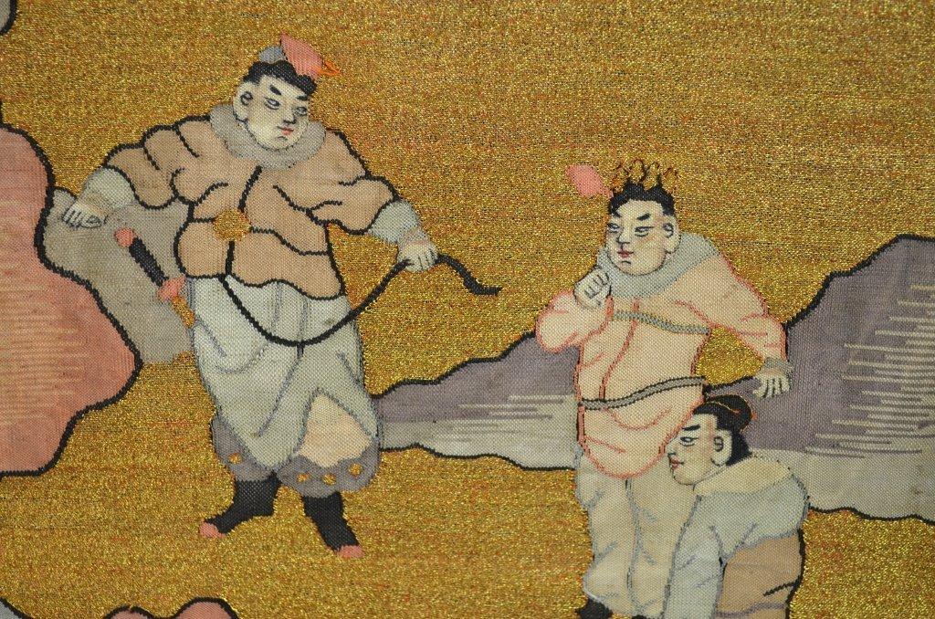 Pair of Chinese Kesi Textile - 5