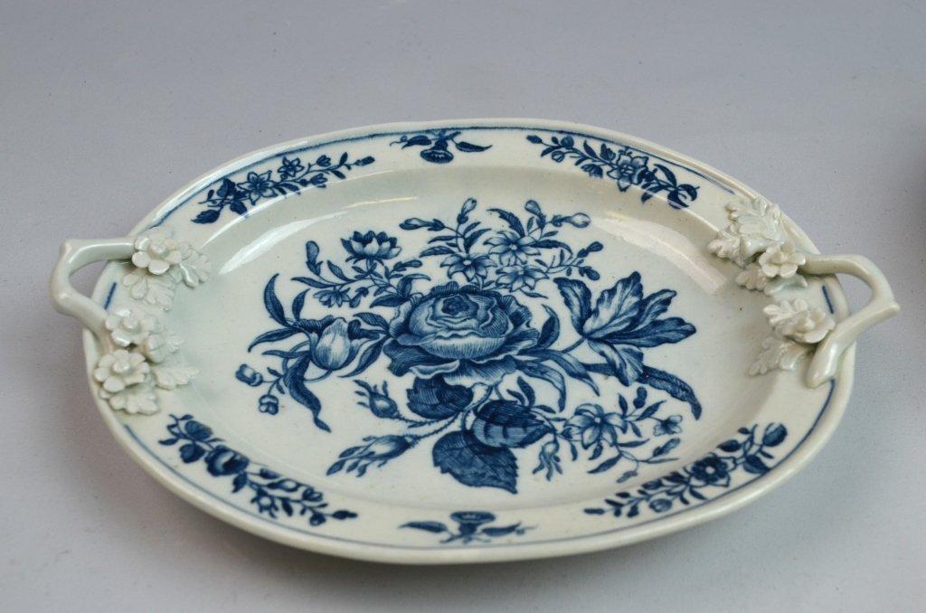 18th C Worcester Porcelain Blue & White Porcelain - 3