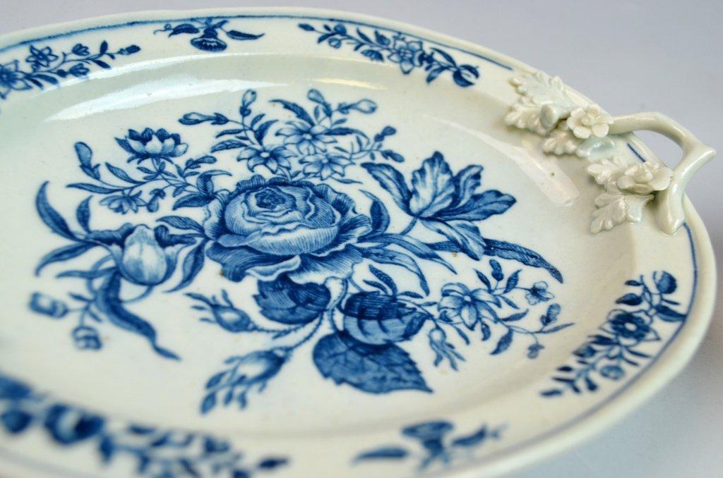 18th C Worcester Porcelain Blue & White Porcelain - 7