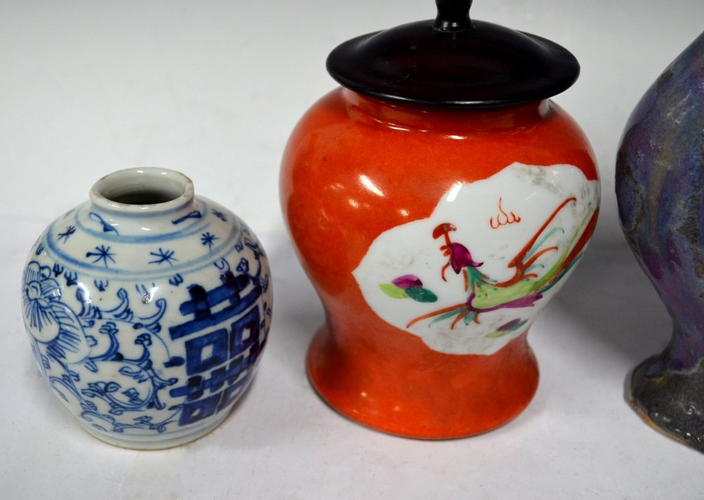 Four Chinese 18/19th Century Porcelain Items - 3