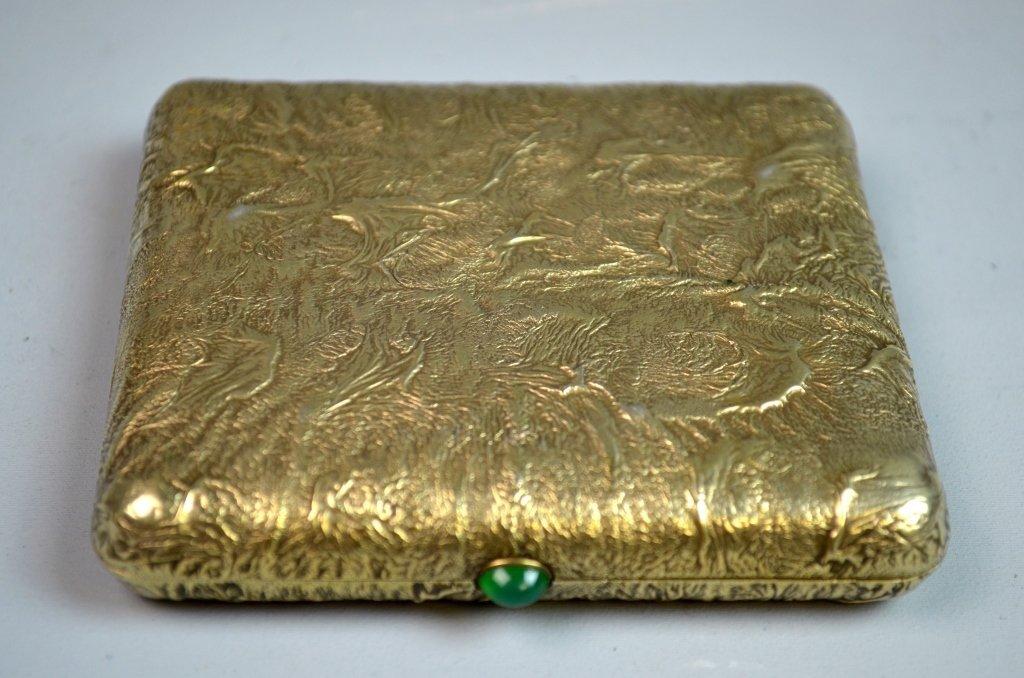 Silver Gilt Russian Samar Box