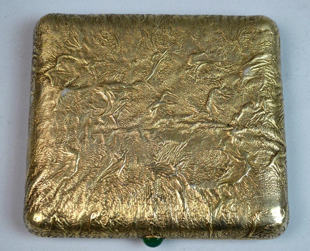 Silver Gilt Russian Samar Box - 2