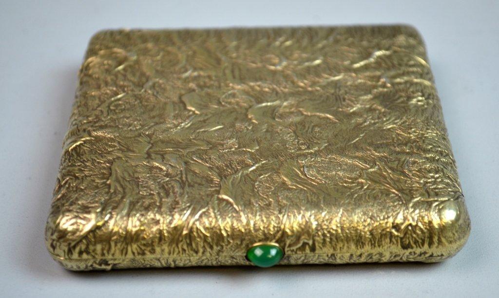 Silver Gilt Russian Samar Box - 4