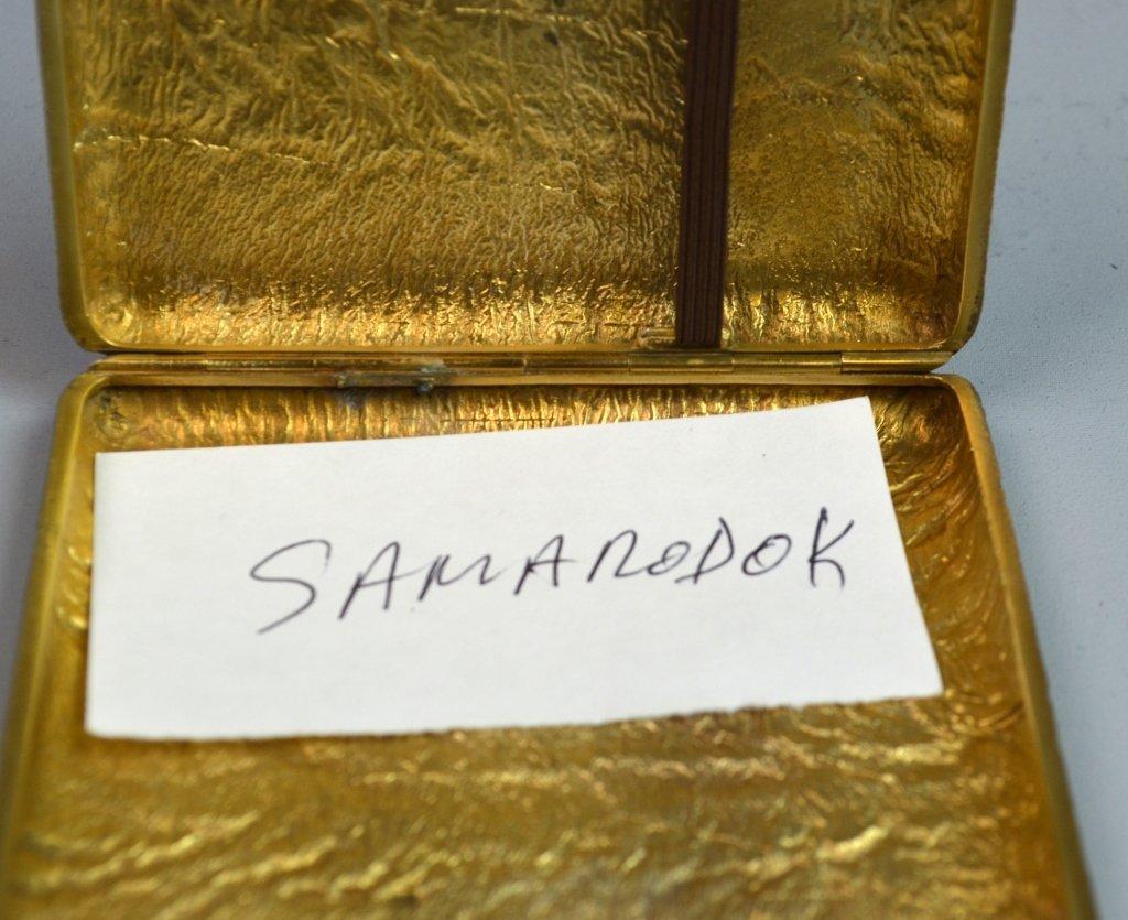 Silver Gilt Russian Samar Box - 6