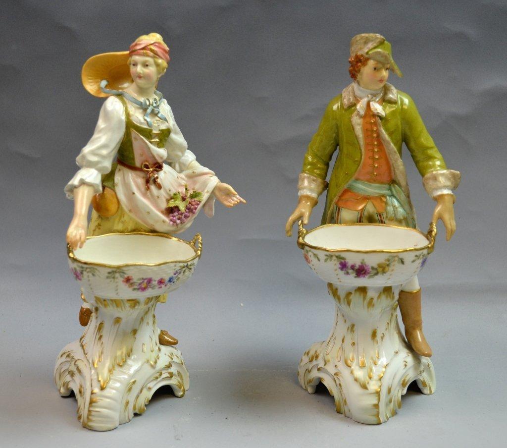 Pair of K.P.M. Figures
