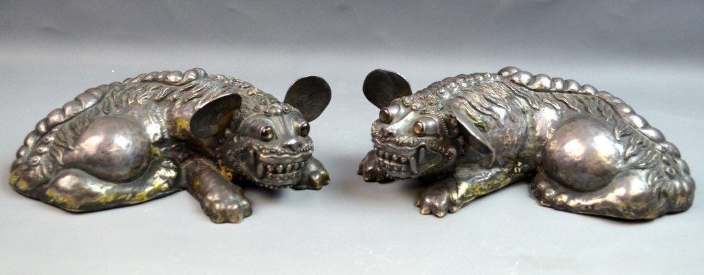 Pair of Chinese/Japanese Foo Dog