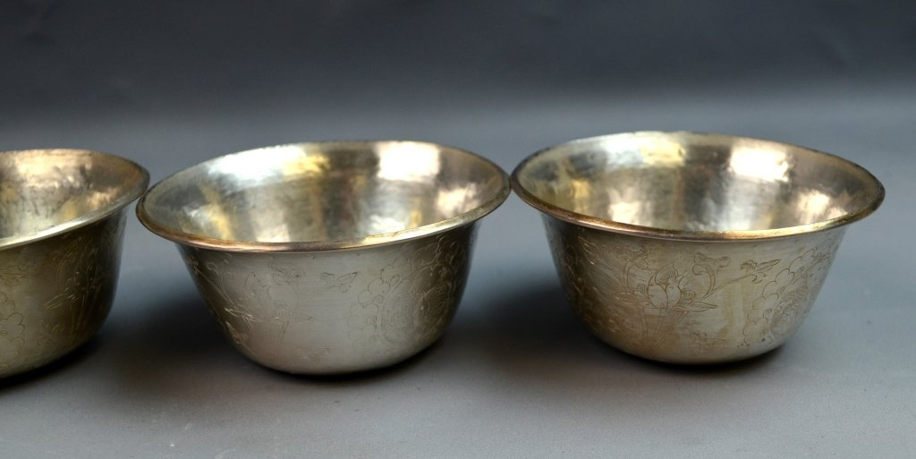 6 Silver Cup Set - 2