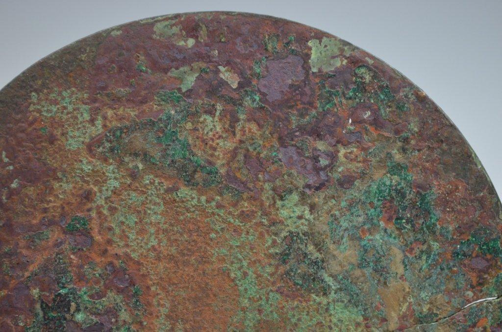 Chinese Han Dynasty Bronze Mirror - 7