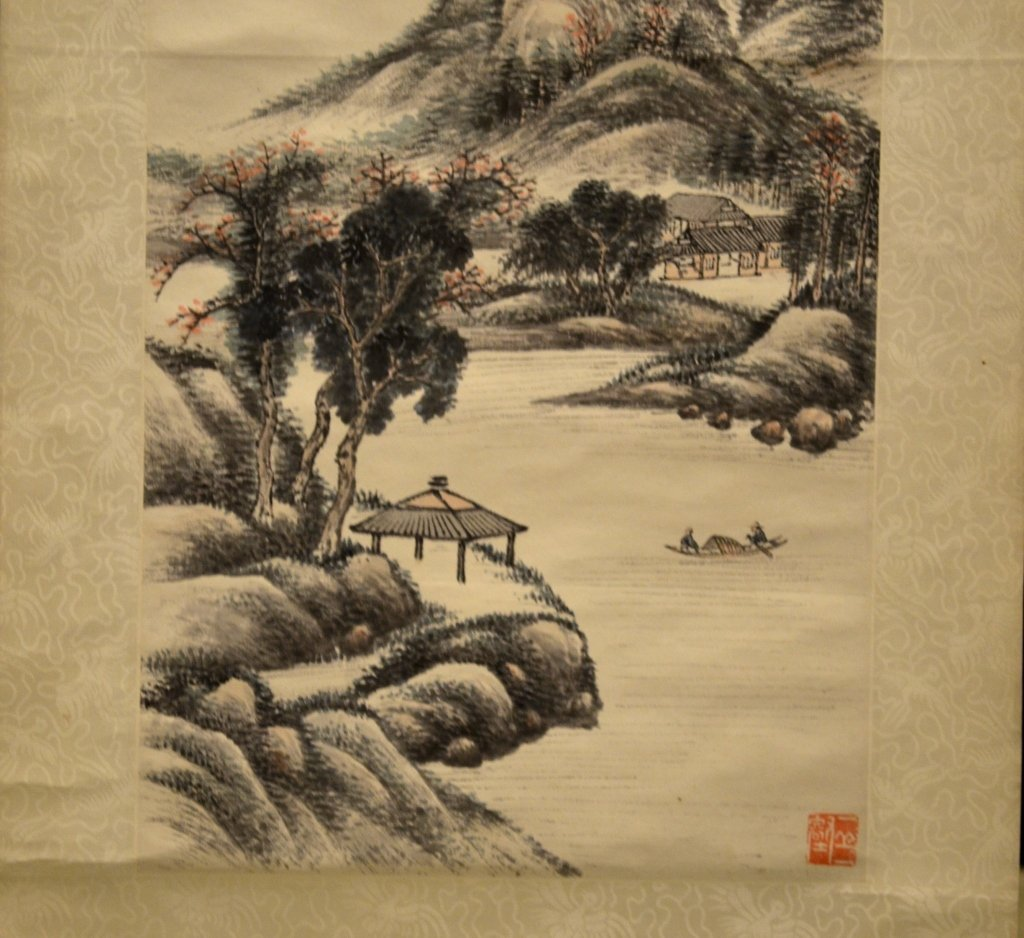 Chinese Water Color Painting On Paper - 6