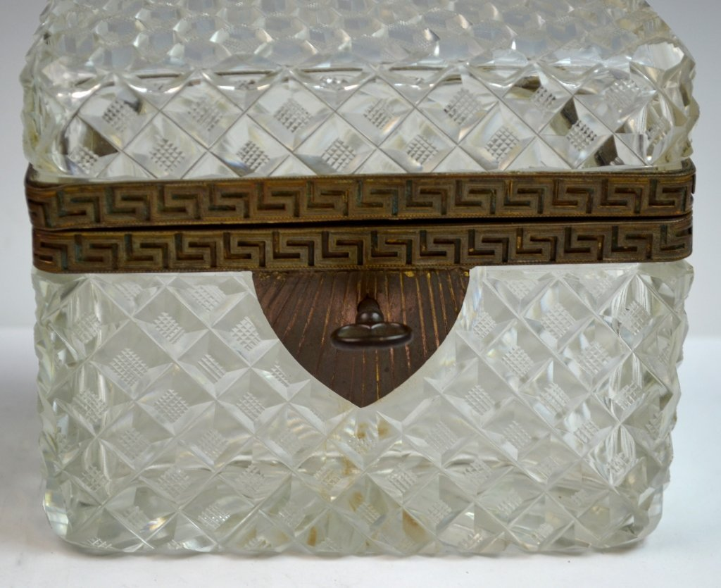 Two Crystal and Opaline Boxes - 2