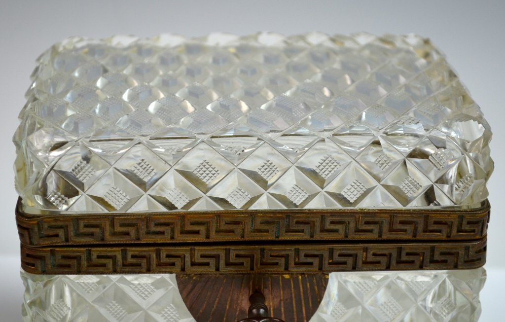Two Crystal and Opaline Boxes - 3