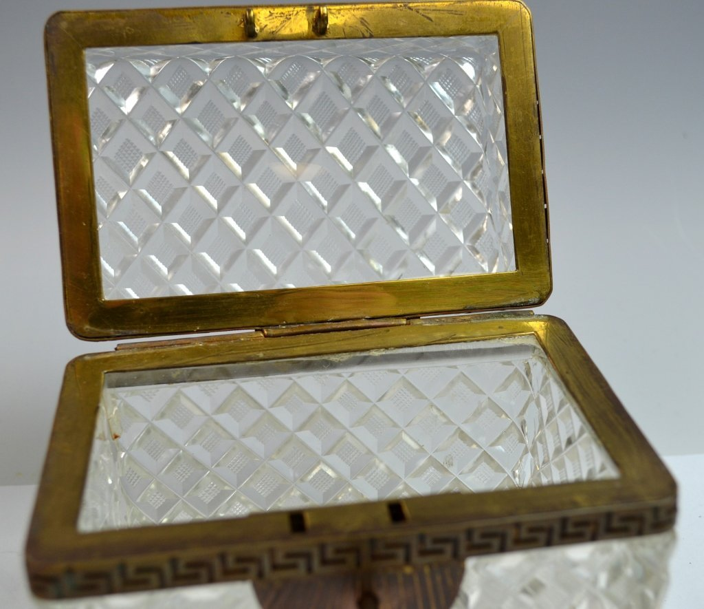 Two Crystal and Opaline Boxes - 6
