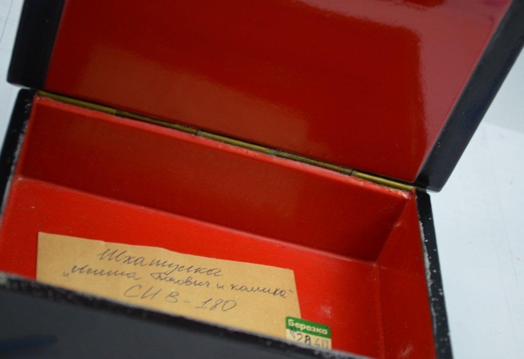 2 Russian Paper Mache Boxes - 5