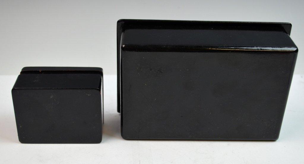 2 Russian Paper Mache Boxes - 6