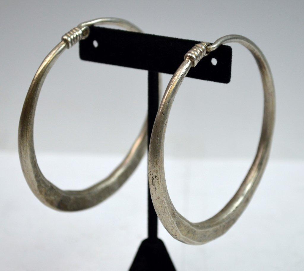 Islamic Tribal Silver 2 Bracelets and 2 Earlings - 6