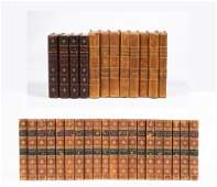"""Three Leather-Bound Book Sets: """"Complete Works of Lord"""