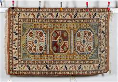 Mid 20thC Caucasian Style Oriental Scatter Size Rug